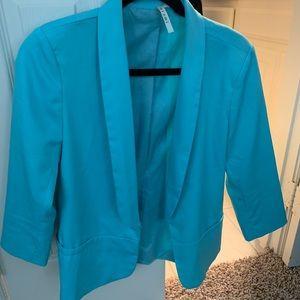Bright blue blazer